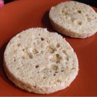 1 Min Grain-Free English Muffin